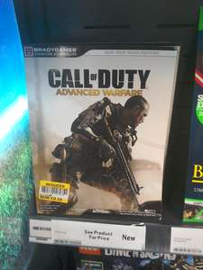 Call of Duty Advanced Warfare Guide 10p (Tesco, Pitsea)
