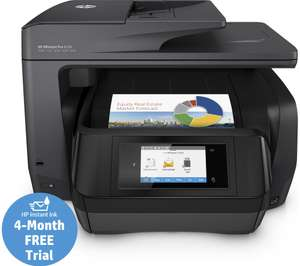 HP OfficeJet Pro 8728 All-in-One Colour Wireless Inkjet Printer £99.99 plus £50 HP cashback = £49.99 + 3 year warranty + 4 month free Trial HP Instant Ink @ Currys
