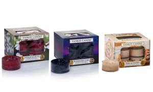 3 x Boxes Of Assorted Yankee Tea Lights £11.98 Del @ Groupon