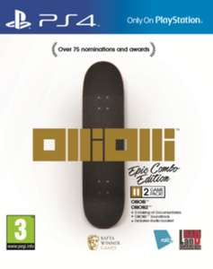 OlliOlli Epic Combo Edition (PS4) £5.00 Delivered @ GAME