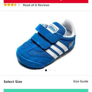 Baby Adidas pram shoes £10 delivered @ JD Sports!!!!