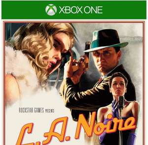 L.A. Noire Xbox One £28 (Prime) @ Amazon
