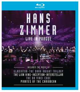 Hans Zimmer Live in Prague (blu-ray) Pre-order - £16.99 (Prime / £18.98 non Prime) @ Amazon