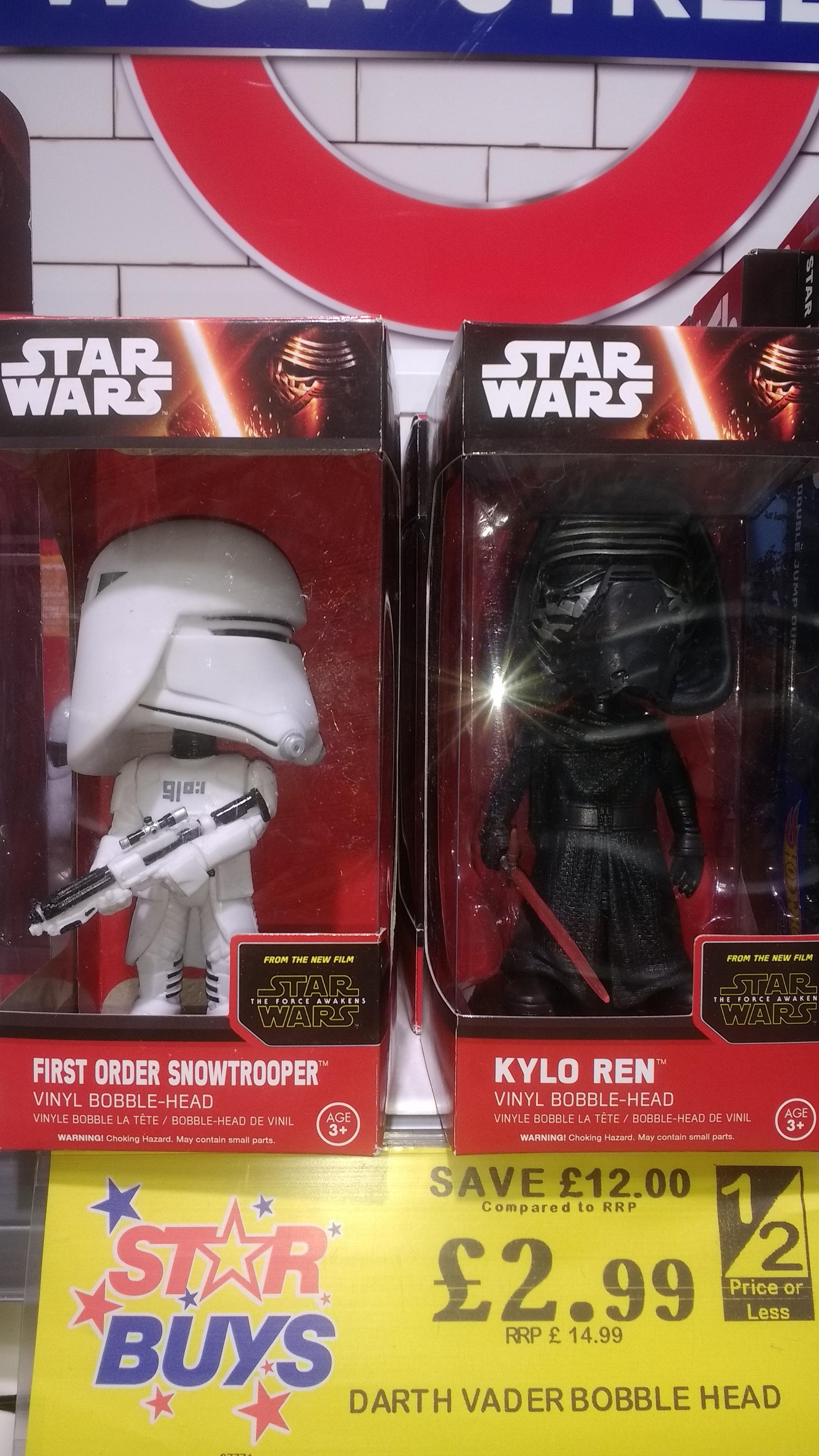 Star Wars Darth Vader Bobble Head 2.99 @ Home Bargains