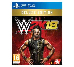 WWE 2K18 Deluxe Edition PS4 / Xbox One £59.99 @Argos