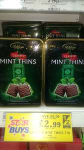 Ashley's Mint Thins - Tin 300g @ Home Bargains