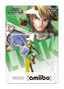 ZELDA Link No.5 amiibo at Amazon £12.99 for prime (£14.98 non Prime)