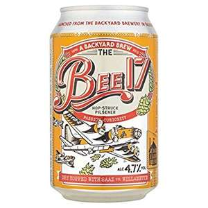 Bee 17 Craft Lager (330ml) 69p @ Home Bargains