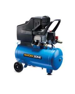 Workzone 2.5Hp Air Compressor - £79.99 @ Aldi