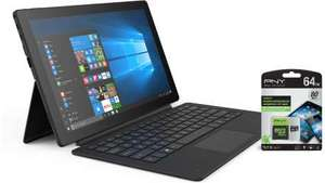 "Linx 12X64 12.5"" Windows 10 Laptop/Tablet & Keyboard With Free PNY 64GB Memory Card £229.99 @ Microsoft Store"