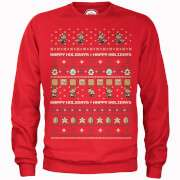 OFFICIAL NINTENDO CHRISTMAS JUMPERS £22.49 with code @ ZAVVI