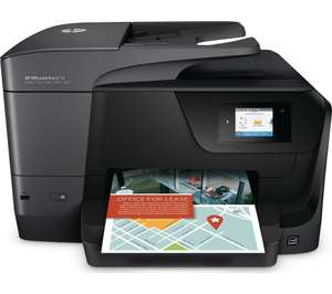 HP OfficeJet Pro 8718 Printer With 13 Month, 500 Page Monthly Instant Ink Print Plan + 3yr Warranty - £59.99 Or £39.99 With £20 HP Cashback [C&C Only] @ Currys