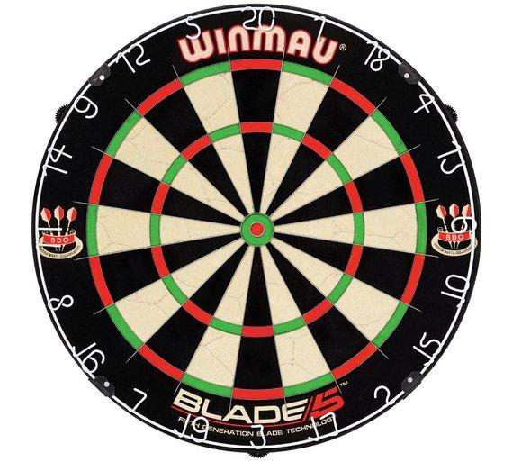 Winmau blade 5 bristle dartboard £25.49 @ Argos