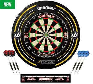 Winmau Blade 5 Board and Xtreme Surround Set £35.99 @ Argos