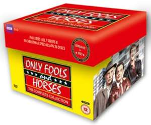Only Fools And Horses Complete Collection 30th Anniversary DVD Box Set at Zoom with code SIGNUP10