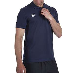 Canterbury Men's Waimak Polo Shirt in Navy / 2-XL / RRP £22:00 £4.38 @ Amazon (Add On Item)