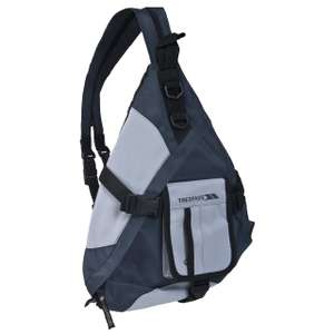 Mas X 5 Litre Black Casual Backpack Discount from £19.99 to £4.99 plus £2.95 delivery @ Trespass