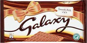 Galaxy chocolate 390g at Tesco for £2