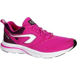 KALENJI Run Active Women's Running Shoes - Fuchsia plus free collect @ Decathlon