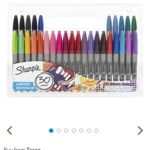 Sharpie Fine Permanent Marker Pens Limited Edition 30pk £8 @ Tesco