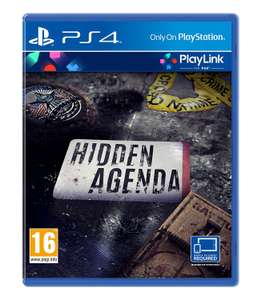 Hidden Agenda (PS4) £13.99 with prime (£15.99 +£1.99 delivery non prime) @ amazon