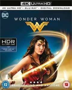 Wonder Woman Ultra HD 4K Blu Ray £19.99 @ taketimeout entertainment