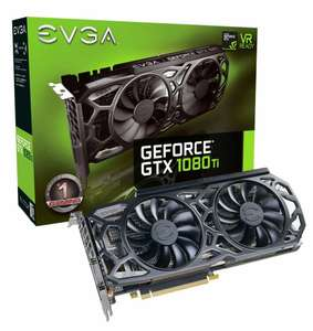 EVGA GeForce GTX 1080 Ti SC Black Edition (Prime price) - £661.97