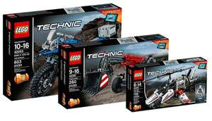 The LEGO Technic 40th Anniversary Bundle - £79.97 @ Lego Online Store