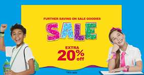 Upto 60% Off Sale + Extra 20% Off Instore / Online @ Smiggle (plus other offers)