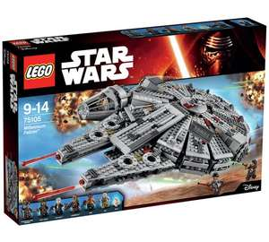 Lego millennium Falcon set 75105 at Argos for £99.99