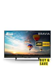 Sony Bravia KD49XE8004BU49 inch, 4K Ultra HD CertifiedHDR, Android TV £629 @ Very (Possibly 10% off with codes)