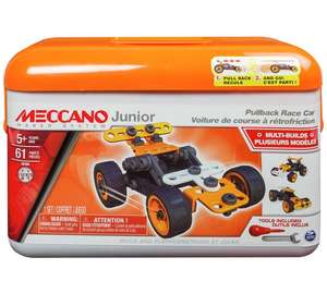 Meccano Junior Tool Box Assortment (tools included - build 5 diff vehicles ) - now £14.99 @ Argos