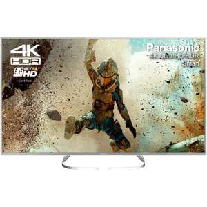 """Panasonic TX-58EX700B 58"""" Freeview HD and Freeview Play Smart 4K Ultra HD with HDR TV - Silver £782.10 @ ao"""