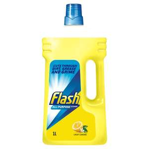 Flash All Purpose Cleaner 1L (various) £2 each but on 2 for £2 offer @Tesco Online/Instore