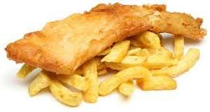 Free fish and chips Birmingham City Centre