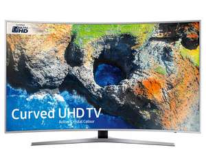 Samsung UE55MU6500 55INCH curved screen TV - £829 @ Crampton and Moore