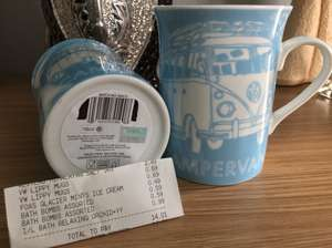Official Volkswagen VW camper mugs 69p @ home bargains