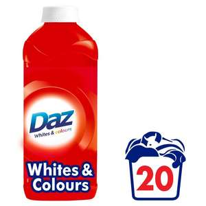 Daz 20 wash reduced half price was £4 now £2 @ Morrisons