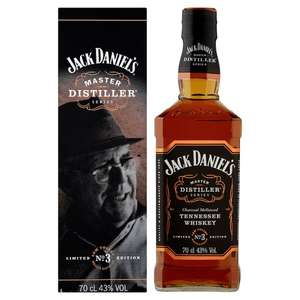 Jack Daniel's Master Distiller 70Cl was £28 now £20 @ Tesco