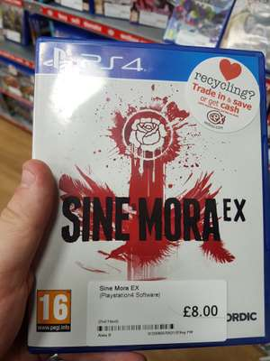 Sine Mora EX (ps4) £8 instore at CEX