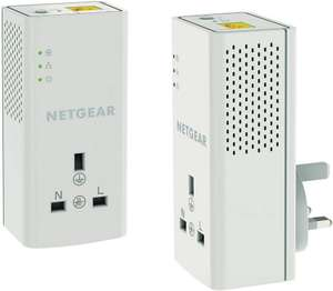 Netgear 1200Mbps Passthrough Powerline Kit, £39.99 from Maplin