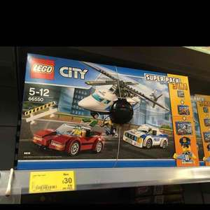 Lego City 66550 3 in 1 Super pack £30 @ ASDA Harlow