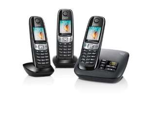 Gigaset C620A Nuisance Call Blocking Cordless Phone with Answering Machine (Pack of 3) - was £99.99 now £44.99 @ Amazon