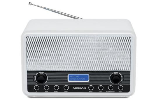 Medion DAB+ FM  radio alarm clock Free Delivery £24.99