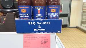 Kentucky BBQ Sauce/ Beer BBC Sauce 59p in ALDI