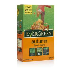 Evergreen Autumn Lawn Care £5 instore at Wilko