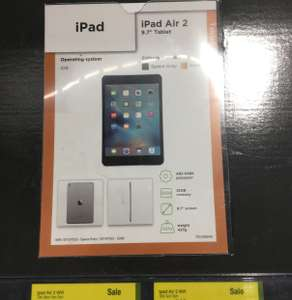 iPad Air 2 32GB in Gold or Silver £300 @Asda Instore