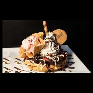 Creams Hounslow £12 for dessert and hot drink for 2 - Groupon