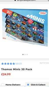 Thomas minis 30 pack at smyths £24.99
