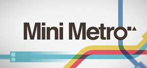 Mini Metro for £3.15 - 55% OFF - Steam key from Bundle Stars